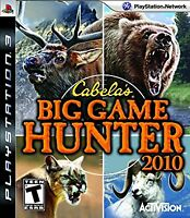 Cabela's Big Game Hunter 2010  ( PS3 Sony Playstation 3 ) Tested!!