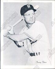 1950 Texas League Baseball Fort Worth Cats Player Tommy Tatus Press Photo