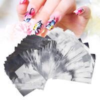 100Pcs/lot Aluminium Foil Nail Soak off Gel Polish Wraps Remover Manicure