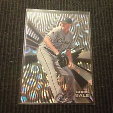 2015 TOPPS HIGH  TEK CHRIS SALE *CLOUDS DIFFRACTOR #14/25*  CHICAGO WHITE SOX