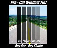 PreCut All Sides & Rears Window Film Any Tint Shade VLT for Nissan Japan