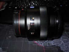 Sony Carl Zeiss Plannar T* 85mm F/1.4 ZA, A mount lens