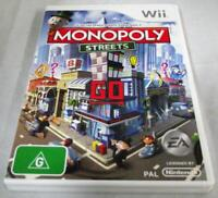 Monopoly Streets Nintendo Wii PAL *Complete* Wii U Compatible