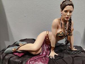 Star Wars Princess Leia as Jabba's Slave Gentle Giant Statue
