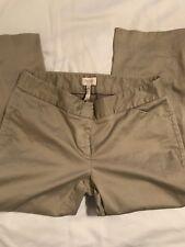 Laundry By Shelli Segal Size 2 Tan Cropped Capri Pants Women's