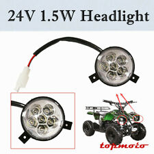 24V- 48V 1.5W Headlight 49cc 50cc 70cc 90cc 110cc For Mini Atv Electric Scooters