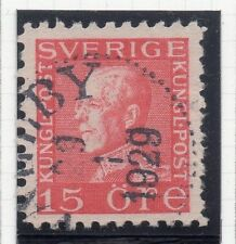 Sweden 1921-38 Early Issue Fine Used 15ore. 026717