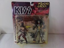 McFarlane Kiss Psycho Circus Gene Simmons/The Ring Master Action Figures ~ NEW