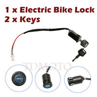 Ignition Key Switch Lock Scooter 2-Wires go-kart Mini GO-CART