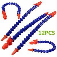 1/4'' Round Plastic Flexible Water Oil Coolant Pipe Hose Lathe Milling CNC &