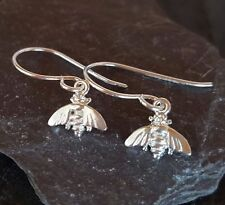 sterling silver baby BEE eardrops earrings FREE Shipping!