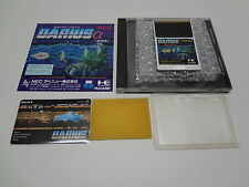 Darius Alpha Not for Sale + Telecard PC Engine Hu-Card Japan EXC
