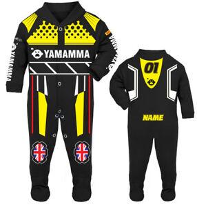 2017 Yamamma Baby Biker Race Sleep Suit