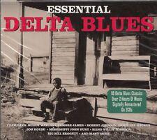 2CD Essential Delta Blues | Neuware Elmore James Muddy Waters John Lee Hooker