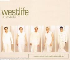 WESTLIFE - If I Let You Go (UK 3 Tk Enh CD Single Pt 1)