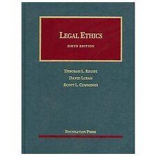 Legal Ethics, Rhode, Luban, Cummings (University Casebook Series) 6th E (L)