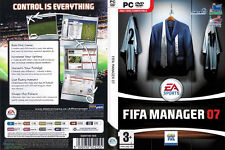 Fifa Manager 07 (PC DVD Game) Brand New & Factory Sealed, Soccer Management