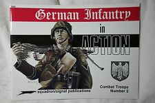 German Infantry in Action Squadron Signal Armor Book # 3002 Very Good