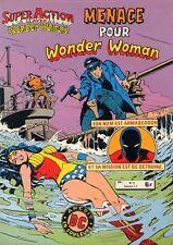 Artima / Arédit Super Action avec Wonder Woman  N° 8 et 9 album relié 6010