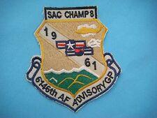 PATCH USAF 6146th  ADVISORY GROUP (ROKAF) IN SOUTH KOREA