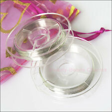 1Roll Cords Gold or Silver Copper 10m/roll Wire Jewelry For Craft DIY 10m