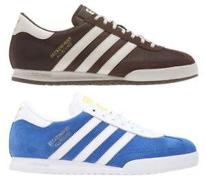 Adidas Original New Men's Beckenbauer Lace Up Trainers