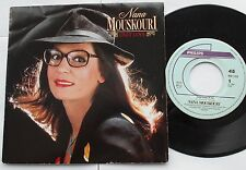 *NANA MOUSKOURI Only love / A place.. NM- CANADA 1985 P/S Philips French 45