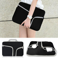 """Black Notebook Sleeve Carry Bag Case for Laptop 13 13.3"""" Macbook/Pro/Air Dell HP"""