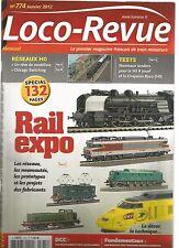 LOCO REVUE N°774 RESEAU HO : UN REVE DE MODELISME / CHICAGO SWITCHING / 141 R