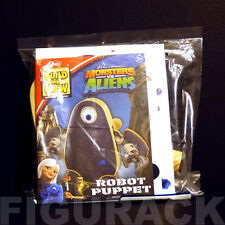 """Lowe's Build and Grow """"Monsters vs Aliens - Robot Puppet"""" Wooden Kit"""