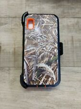 For Samsung Galaxy A10e camoflage Case w(Belt Clip Fits Otterbox Defender