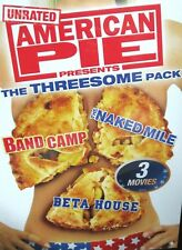 American Pie Presents: The Threesome Pack NEW! 3 DVD, NAKED MILE,BAND CAMP,BETA