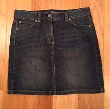 ANN TAYLOR DENIM MINI SKIRT - SIZE 6P