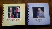 2 NEW BEATLES SGT PEPPERS SESSIONS MCCARTNEY BOOKS 1967 FAN PHOTOS ABBEY RD 60S