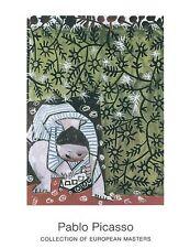 Enfant Jouant by Pablo Picasso Art Print Offset Lithograh Poster 27.5x35.5