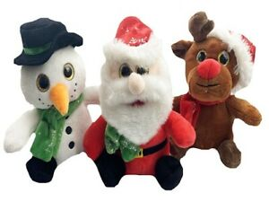PLUSH CHRISTMAS TOY soft stuffed cute teddy bear doll kids birthday gift plush