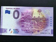 0 Euro-Schein, Tropical Island, 2020-2, Anniversary