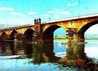 Trier , Römische Moselbrücke  , Ansichtskarte