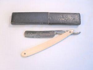 THE SANDRINGHAM Antique Vintage Cut Throat Razor by John Ives