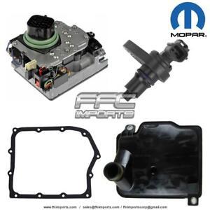 62TE Transmission MOPAR Solenoid Block Transfer Speed Sensor Filter KIT 2006-UP