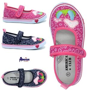 Girls canvas shoes trainers sneakers 9UK Real leather insole PUMPS KIDS GIRL