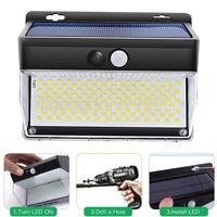 262 LED Lampe Solaire Extérieur étanche sans fil Applique Détecteur de Movement