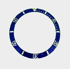 Rolex Submariner Steel 16610A 16800 16610 Watch Bezel Blue Insert Part