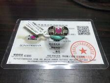 Myanmar Ruby Men S925 Silver Ring