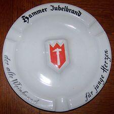 VINTAGE HAMMER JUBELBRAND WINE ADVERTISING CIGAR ASHTRAY THOMAS CHINA GERMANY
