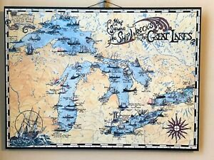 Great Lakes Shipwreck Map