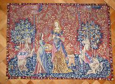 Embroidered Gobelinbild Gobelin Tapestry France