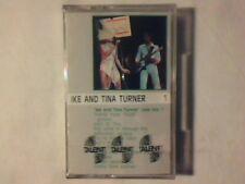 IKE AND TINA TURNER Live vol. 1 mc cassette k7 ITALY RARISSIMA SIGILLATA SEALED!