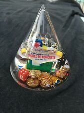 Welcome to Fabulous Las Vegas World of Concrete Cone Shaped Snow Globe