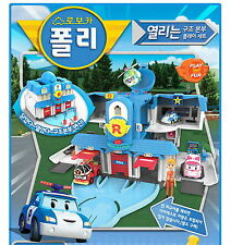 Robocar Poli Openable Rescue Center Convertible Station Headquarter Play Set Toy
